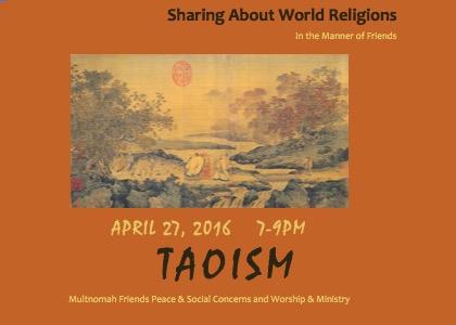 Taoism - April
