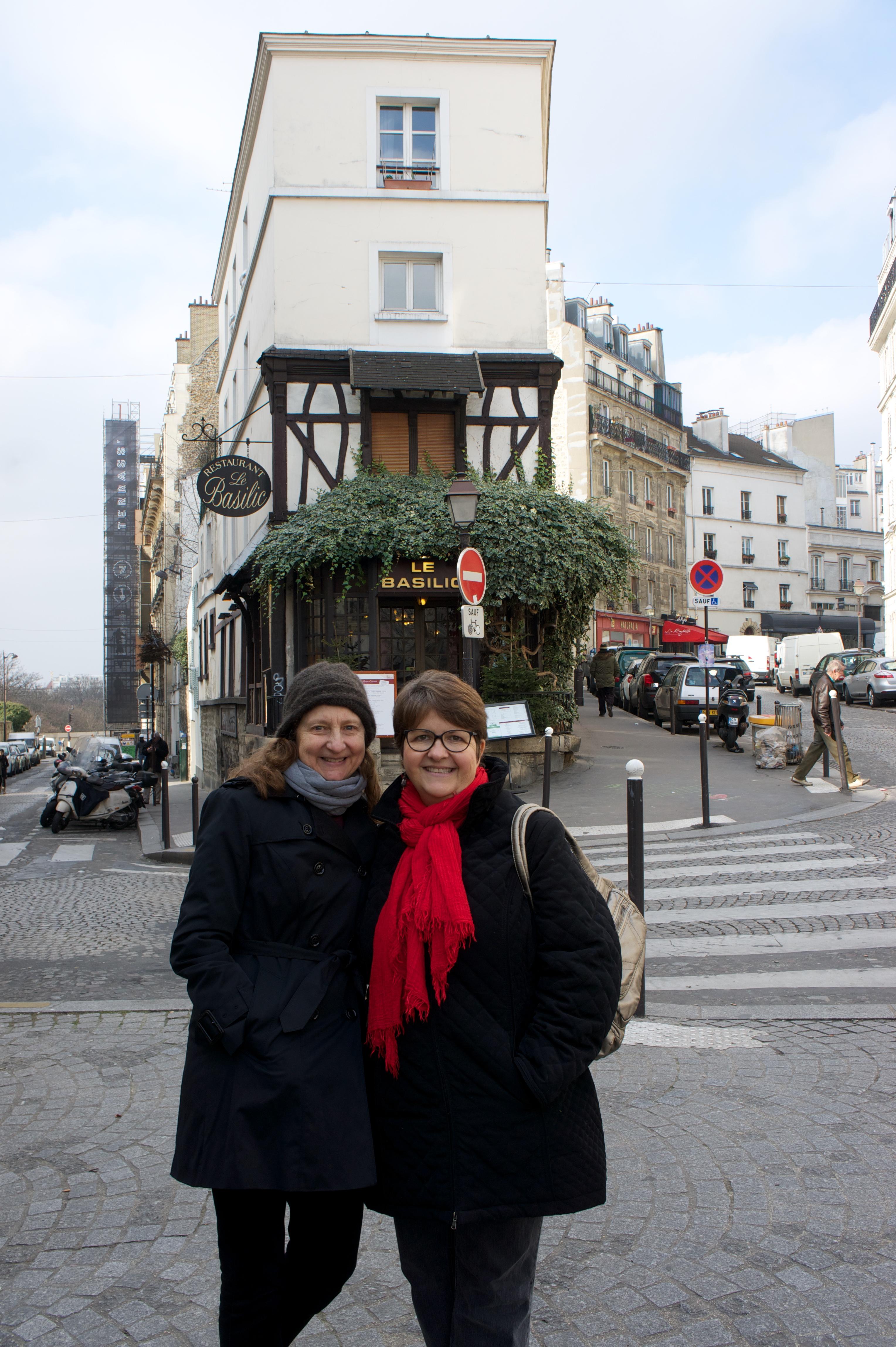 Eddy & Lisa in Montmartre