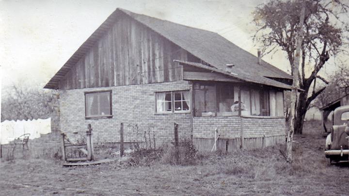 Original ranch house in Oregon