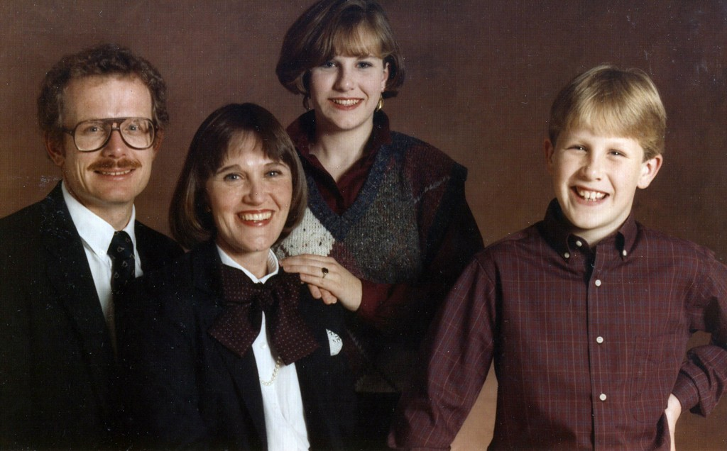Marty, Linda, Corina and Chad (ca 1983)
