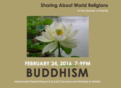 Buddhism - January