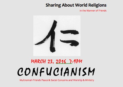 Confucianism - March